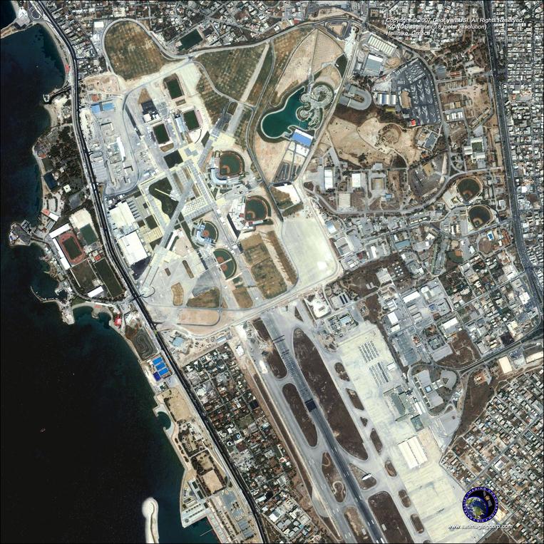 Satellite Photo - Helliniko, Greece