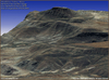 Satellite 3D Terrain Model - Eritrea, Africa