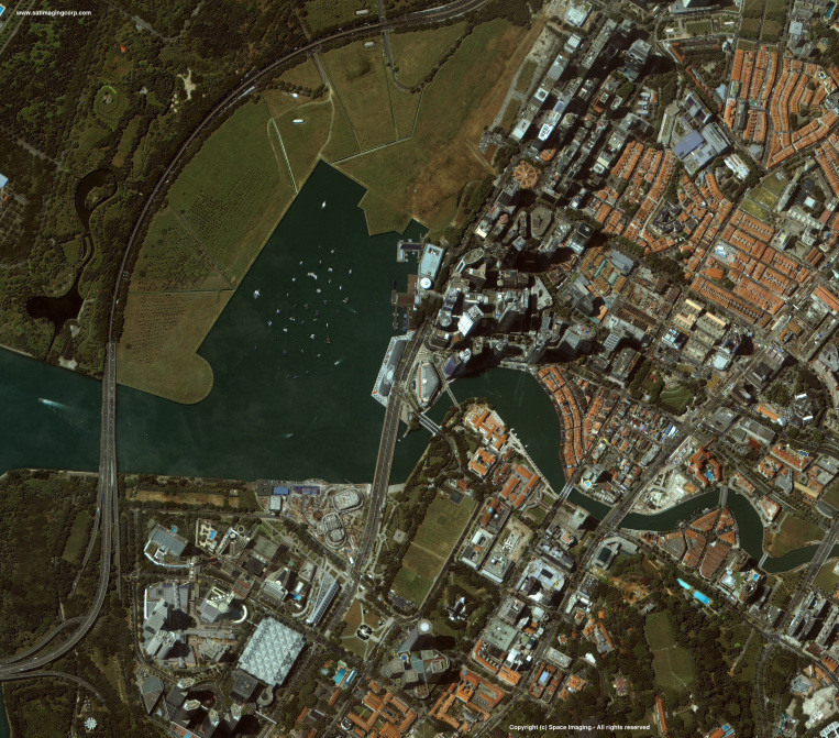 IKONOS Satellite Image of Singapore