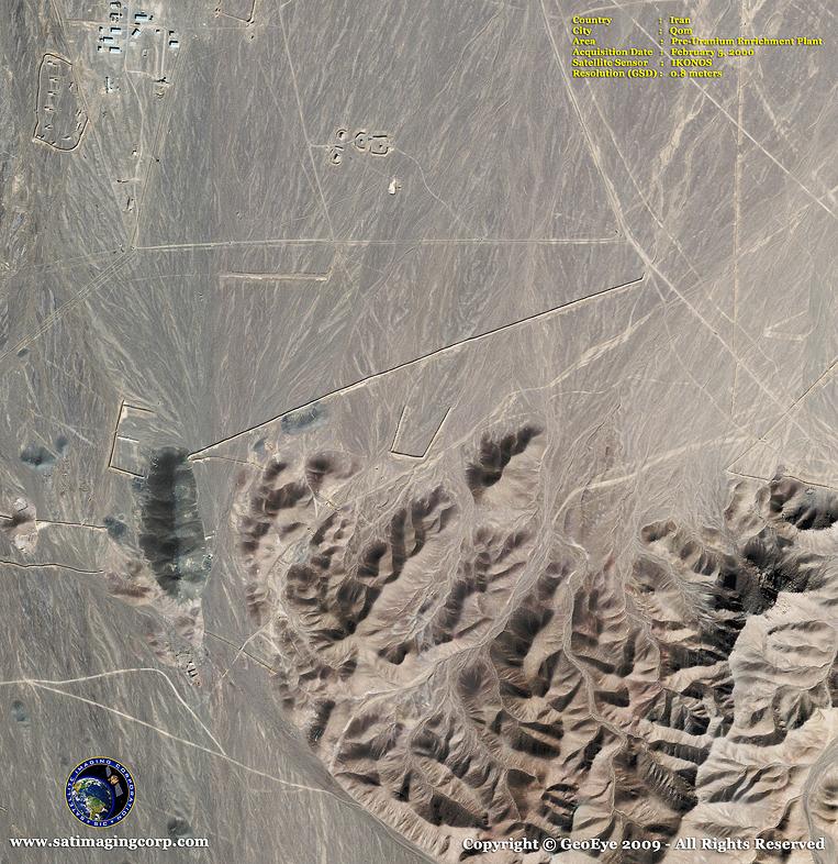 IKONOS Satellite Image of Qom, Iran