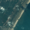 Satellite Image - Sendai, Japan - After Tsunami