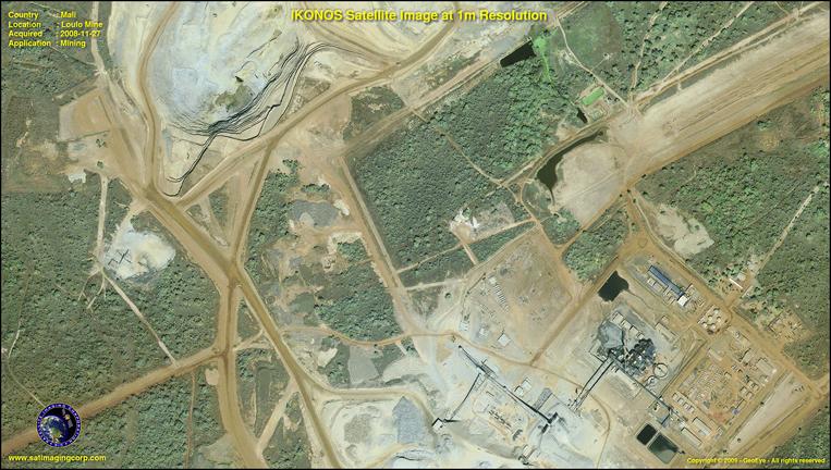 Satellite Images - IKONOS - Mali, Africa