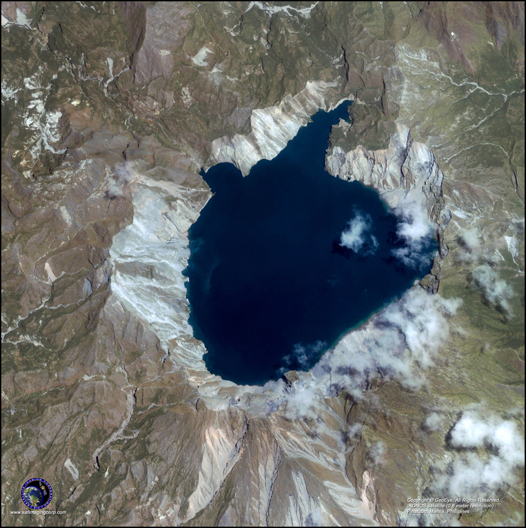 Satellite Photo - Manila, Phillipines (Mt. Pinatubo)