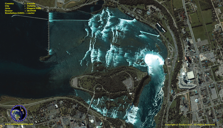 IKONOS Satellite Image of Niagara Falls