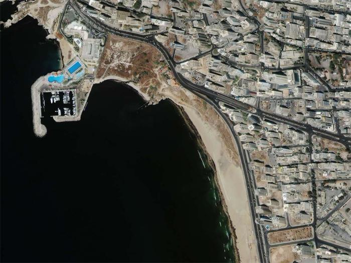 Oil Spill in Lebanon (IKONOS)