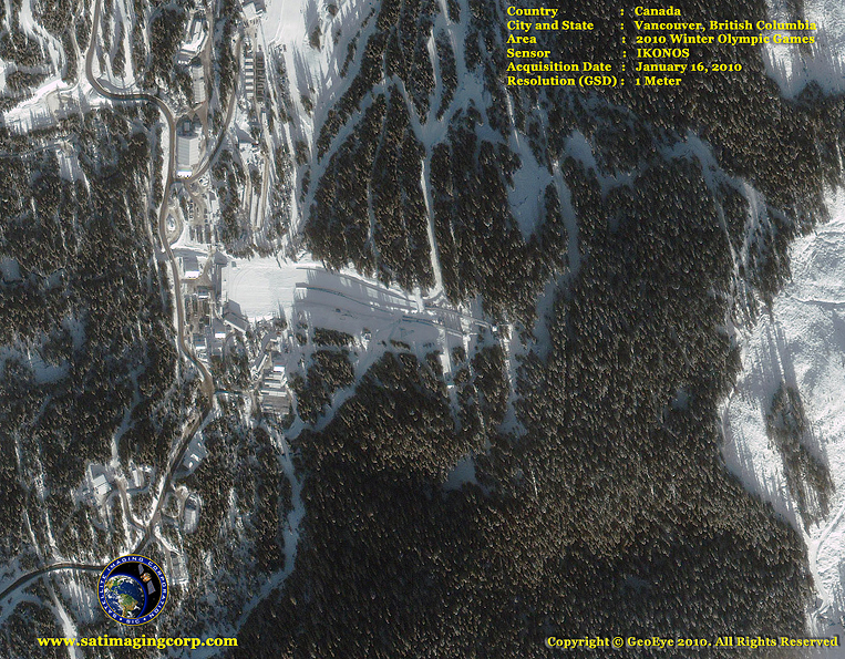 IKONOS Satellite Image of Vancouver, British Columbia