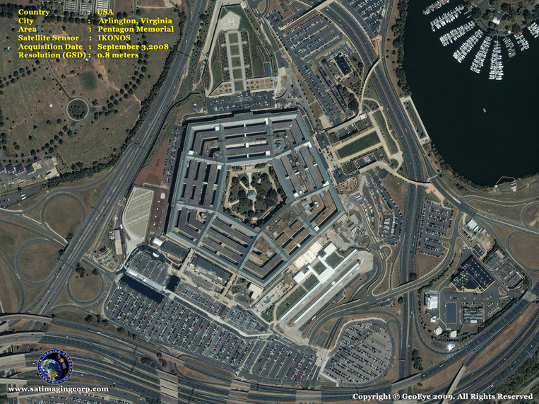 IKONOS Satellite Image of the Pentagon