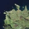 Satellite Picture - Rapa Iti, Polynesia
