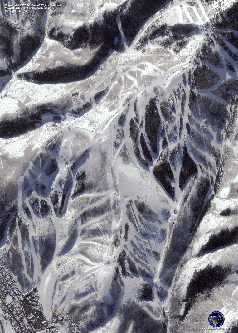Satellite Image - Salt Lake City, Utah