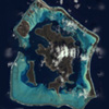 Satellite Image - Bora Bora, Pacific