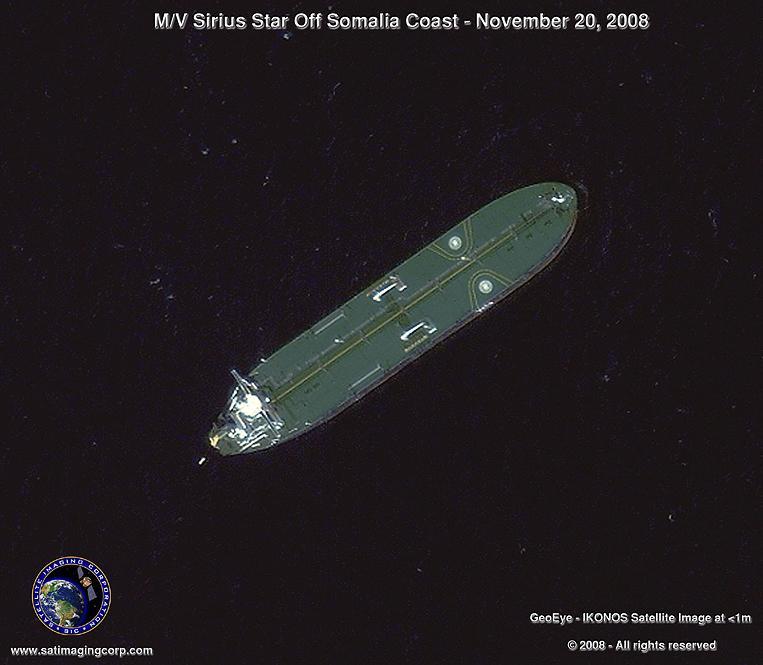 IKONOS Satellite Image of the Sirius Star