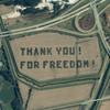 IKONOS - Satellite Image - Thank You For Freedom