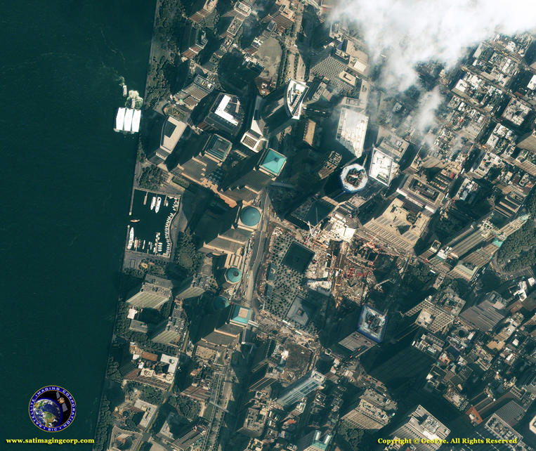 IKONOS Satellite Image of the WTC Memorial