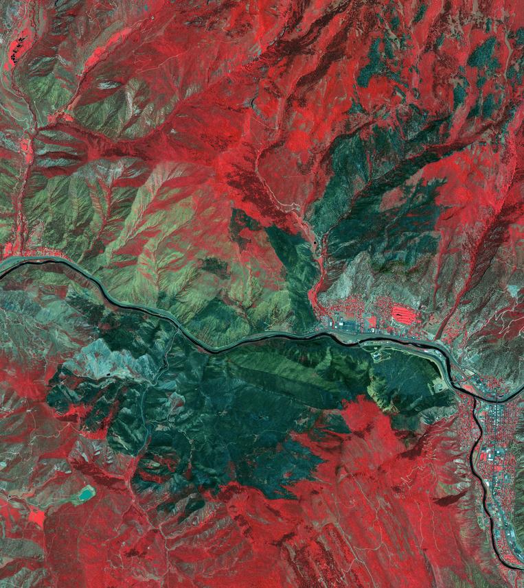 Satellite Photo of California