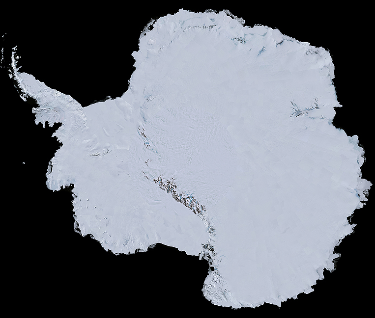 LANDSAT Satellite Imagery of Antarctica