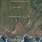 IKONOS satellite image of North Korea's Taepodong missile launch facility (Satellite Imaging Corporation) - click to enlarge