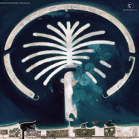 IKONOS Image of Palm Islands
