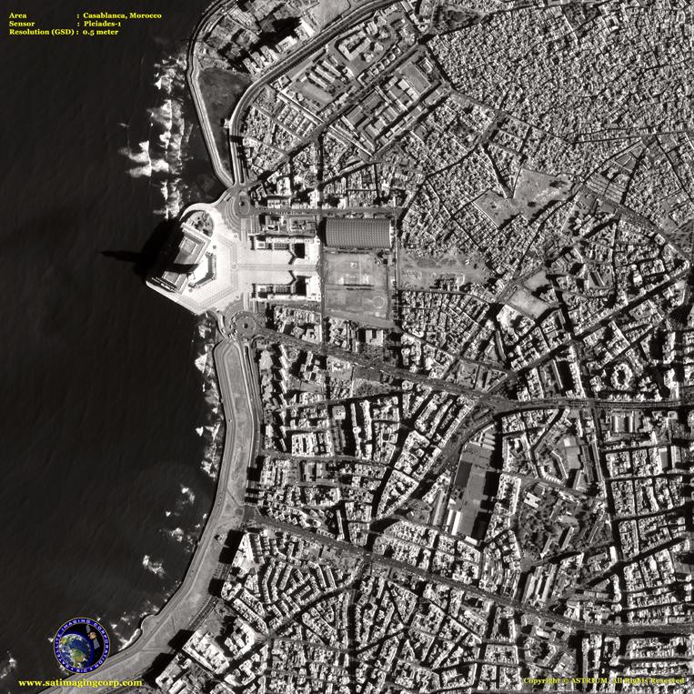 Pleiades-1 Satellite Image of San Francisco