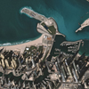 Middle East Map of Dubai
