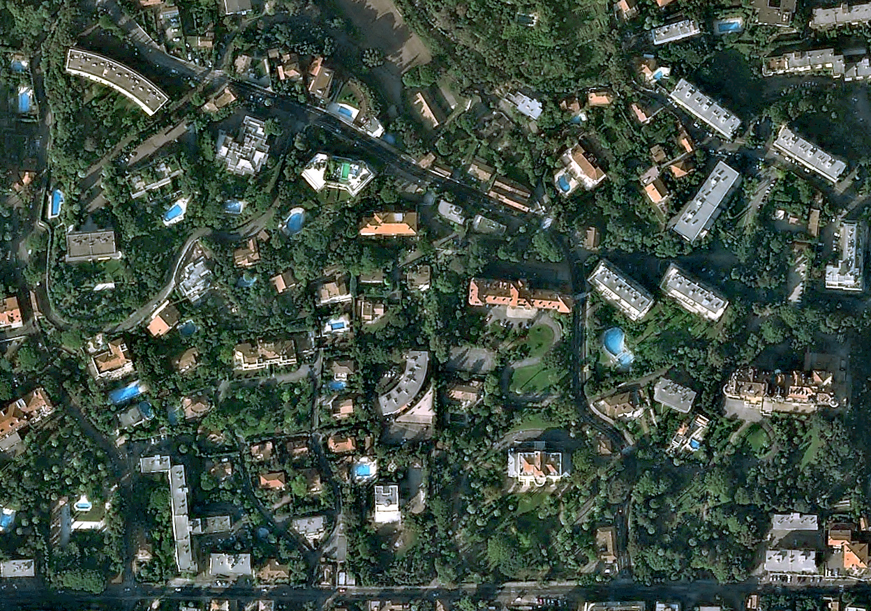 Pleiades 1a Satellite Image Simulation Satellite Imaging