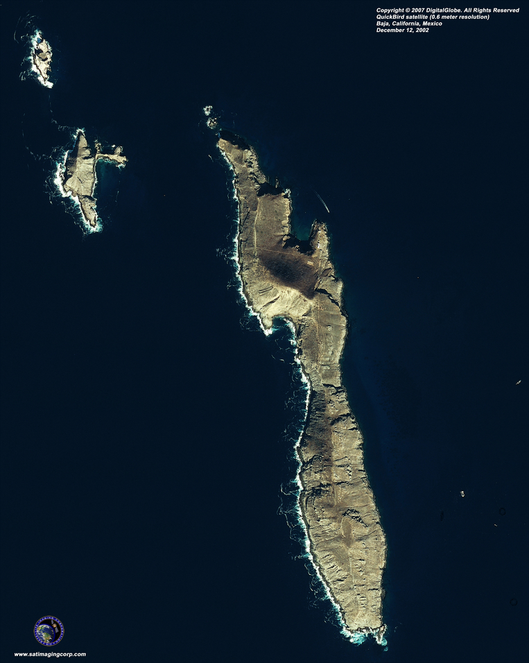 Satellite Photo - Baja, Mexico