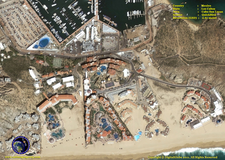 Satellite Imagery - Cabo San Lucas