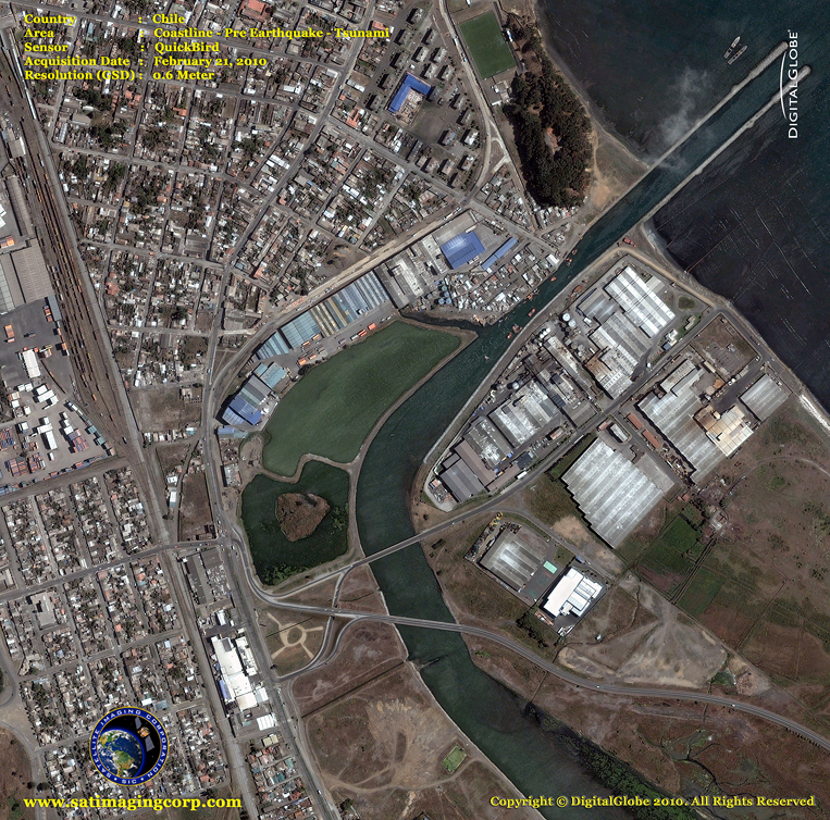 QuickBird Satellite Picture - Chile