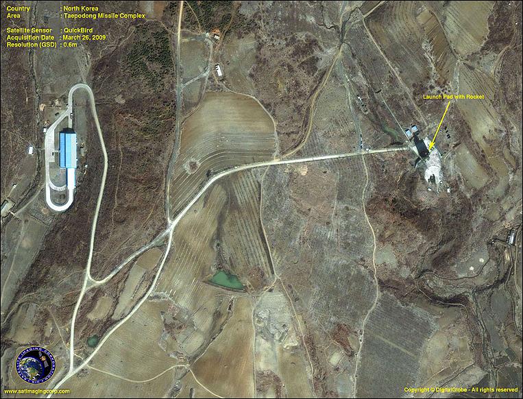 Taepodong - North Korea - Satellite Image
