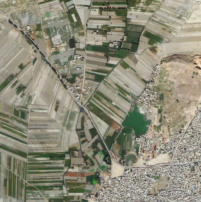 QuickBird Satellite Image - Nowshera, Pakistan