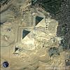 QuickBird Satellite Image - Giza Pyramids, Egypt