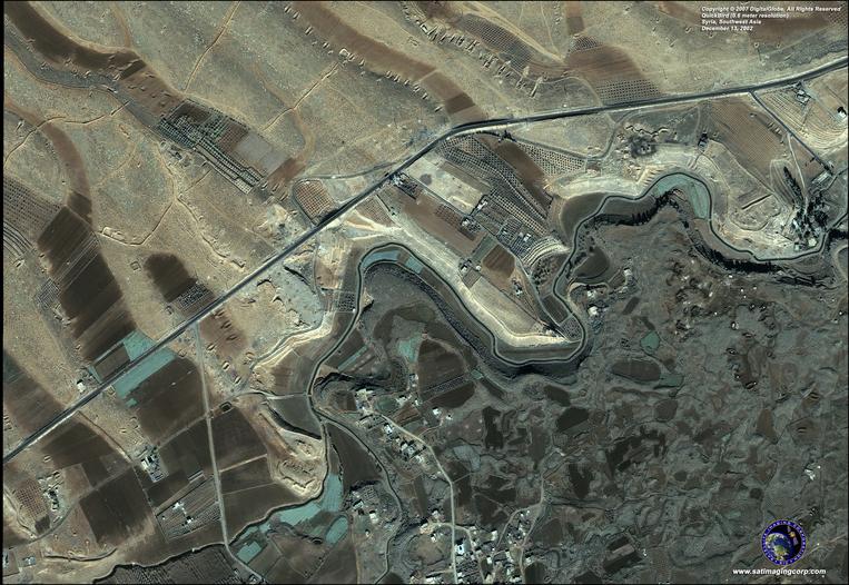 Satellite Photo - Syria
