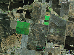 QuickBird Satellite Image of Toowamba, Australia