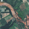 Satellite Image - Toxic Red Sludge in Hungary