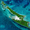 Satellite Image - Umbrella Cay, Bahamas