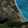 Satellite Photo - Oahu, Hawaii