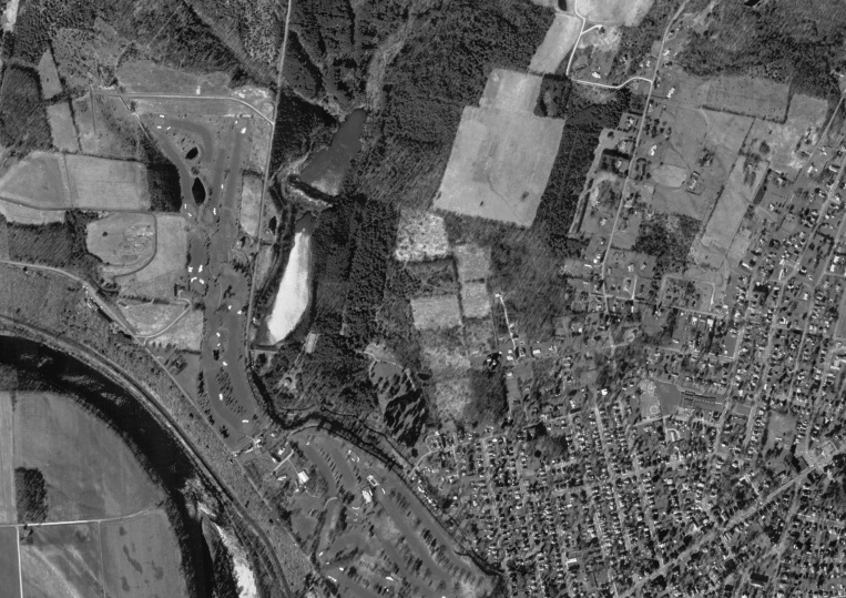 Digital Aerial Photograph of Bradford, Pennsylvania