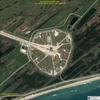 Satellite Image Space Shuttle Discovery - Kennedy Space Center