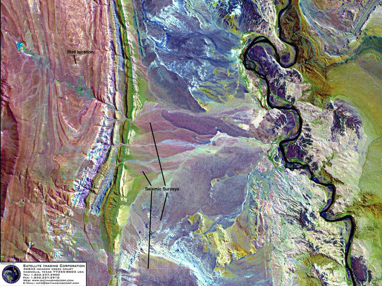 Satellite Image of Argentina (Landsat)