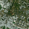 Satellite Image Oil Facility - Siberia, Russia