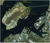 Satellite Image - Pearl Harbor Memorial
