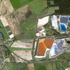 Satellite Image - Toxic Sludge - Ajka, Hungary