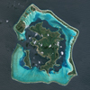 SPOT-6 Satellite Image of Bora Bora