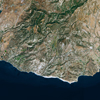 SPOT-6 Satellite Image of Paphos, Cyprus