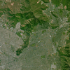 SPOT-6 Satellite Image of Santiago, Chile
