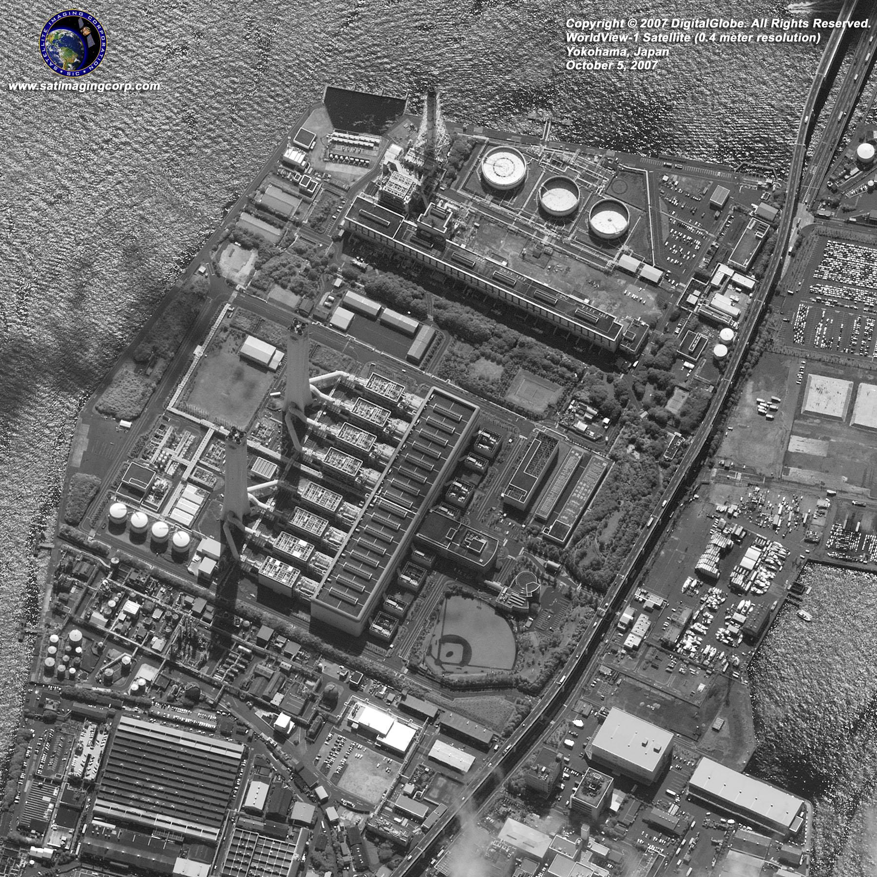 worldview-1-satellite-image-yokohama-japan Downloading Maps on
