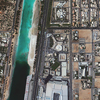 WorldView-2 Satellite Image of Abu Dhabi, United Arab Emirates