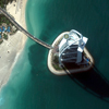 Satellite Image - Burj Al Arab Luxury Hotel