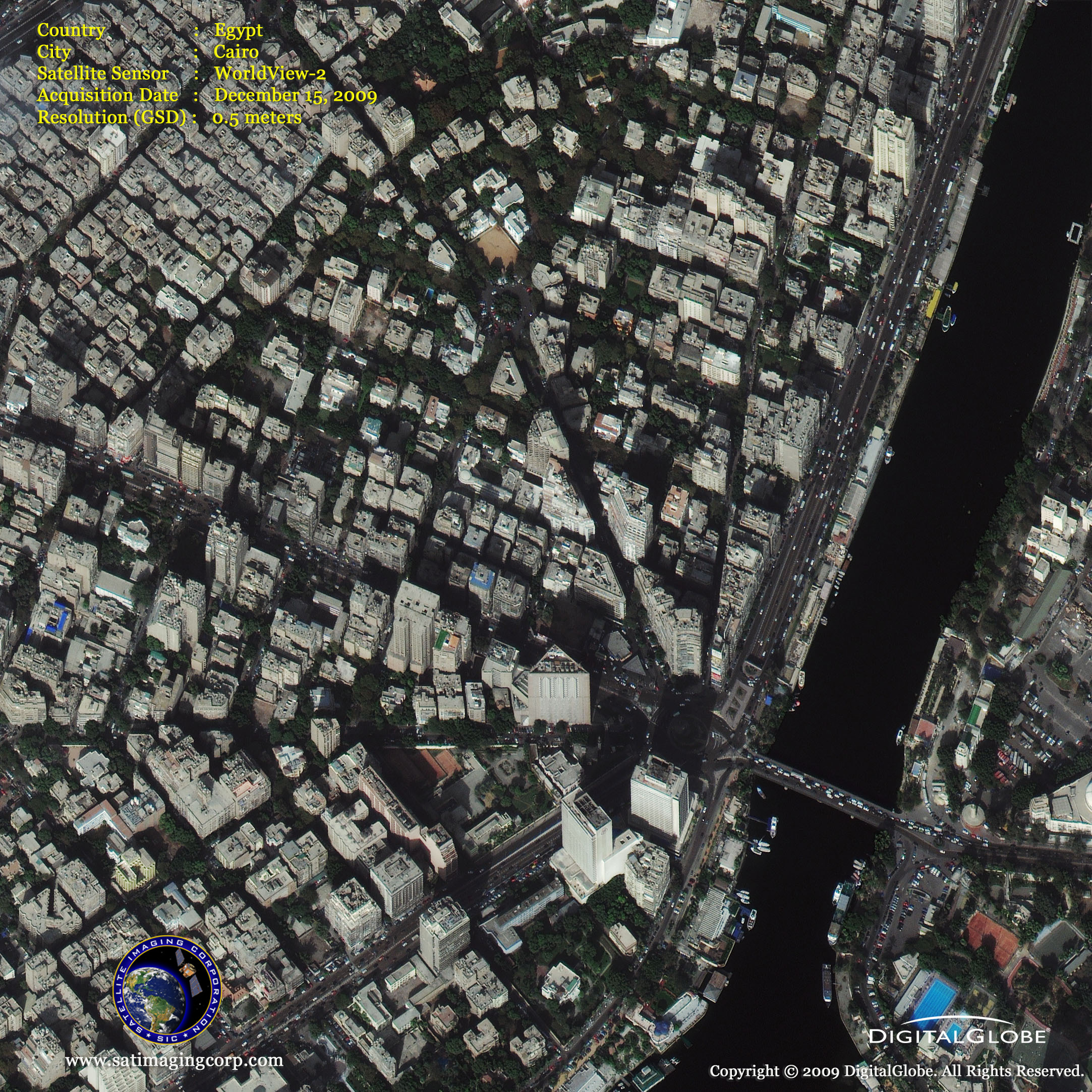 middle east map of cairo egypt satellite imaging corp
