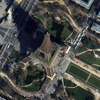 WorldView-2 Satellite Image of the Eiffel Tower