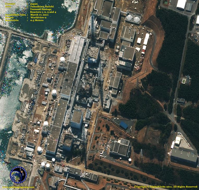 Satellite Imagery - Fukushima Dai-ichi